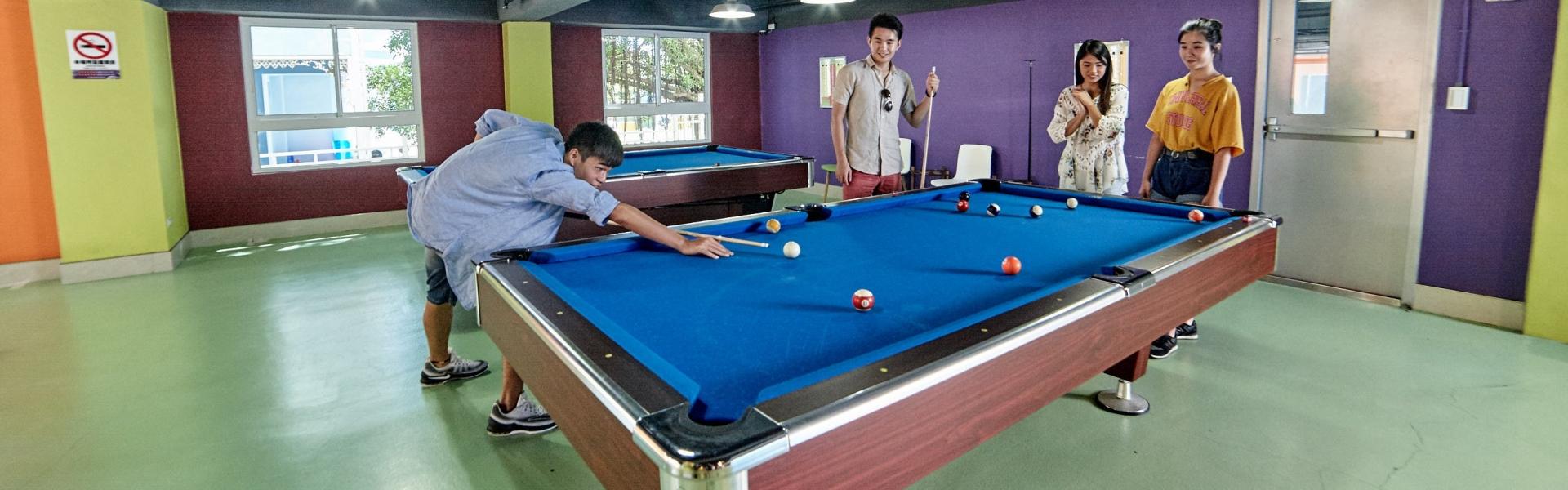 Ping pong table, billiard table