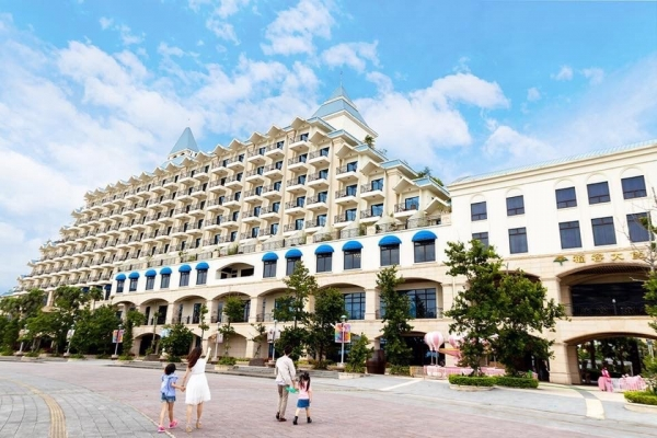 [住。北部]台北淡水 福容大飯店。漁人碼頭郵輪飯店。置身歐洲的美麗度假村