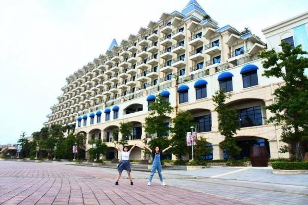 ★淡水★福容大飯店在漁人碼頭,景色優、房間棒