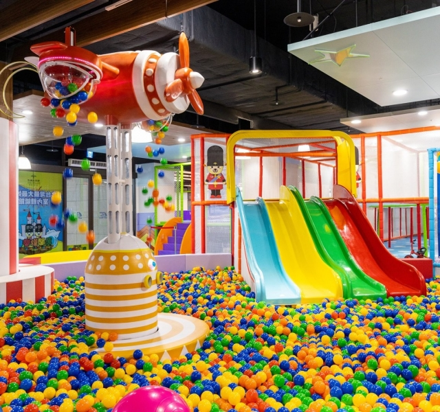 淡水阿熊勇闖歡樂島 最好玩的親子體能館