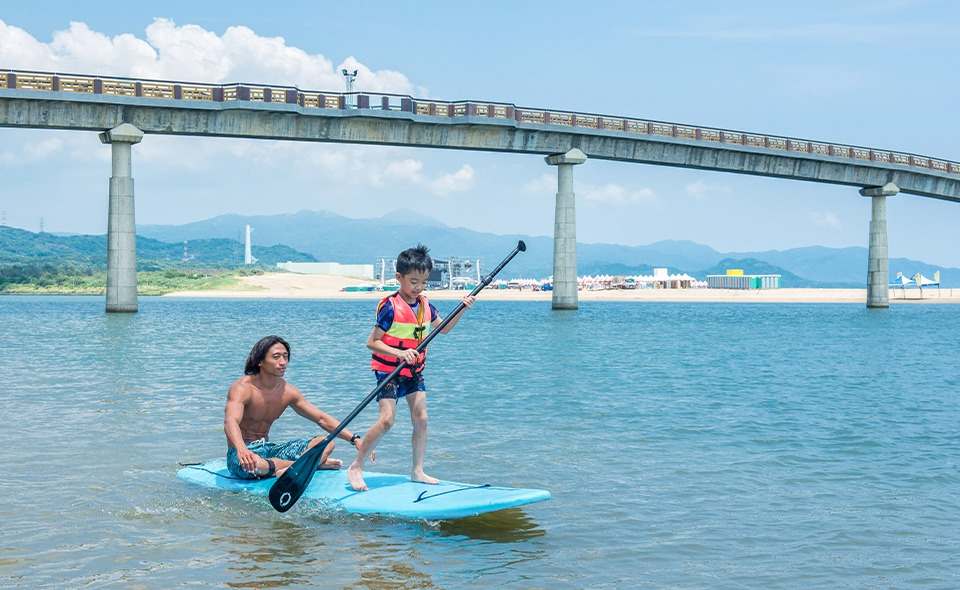 SUP 立式划槳