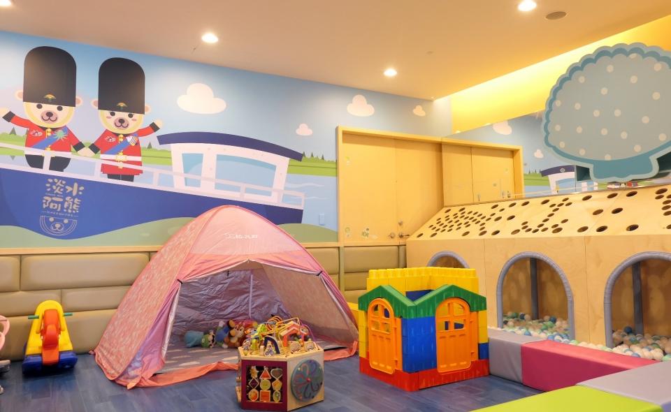 【暫停開放】兒童遊戲區