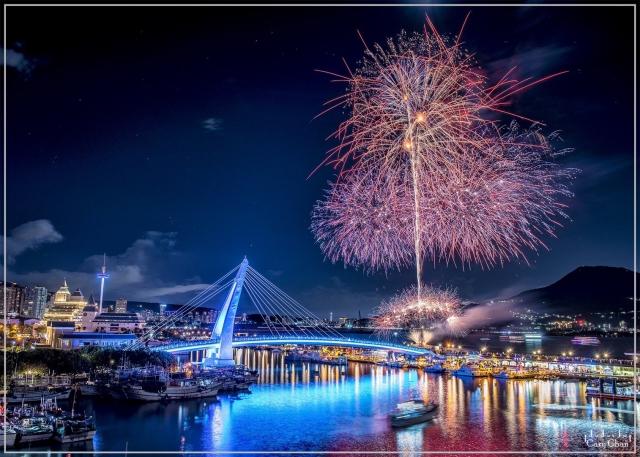 2020漁人碼頭璀璨煙火
