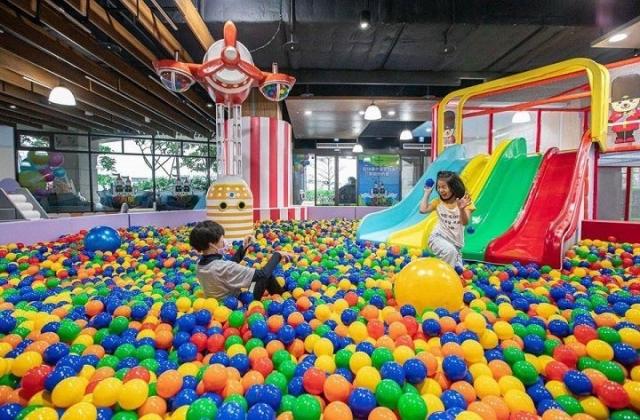 最好玩的親子體能館「淡水阿熊勇闖歡樂島」
