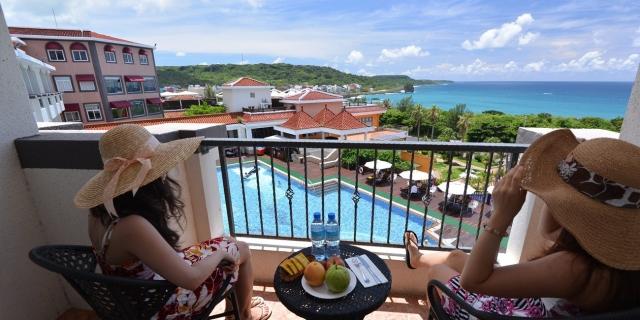 無敵山海景色! 墾丁浪漫海景渡假套房 坐陽台遠眺船帆石與大海