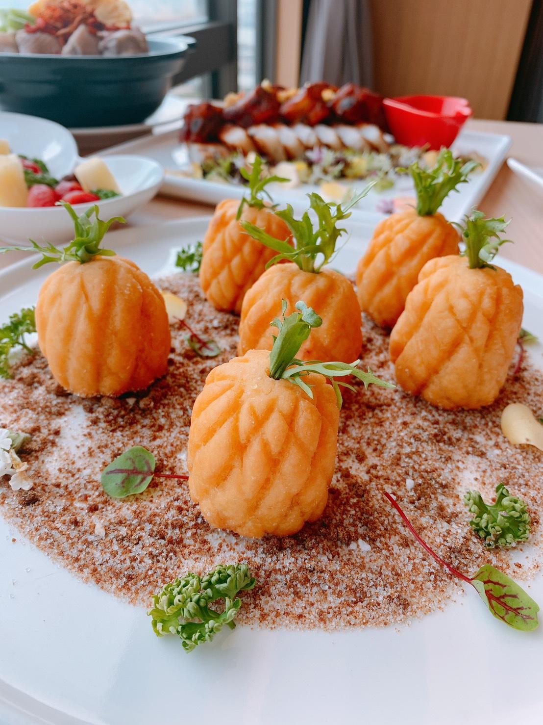 鳳梨宴好運旺起來 飯店大廚巧思將鳳梨入菜