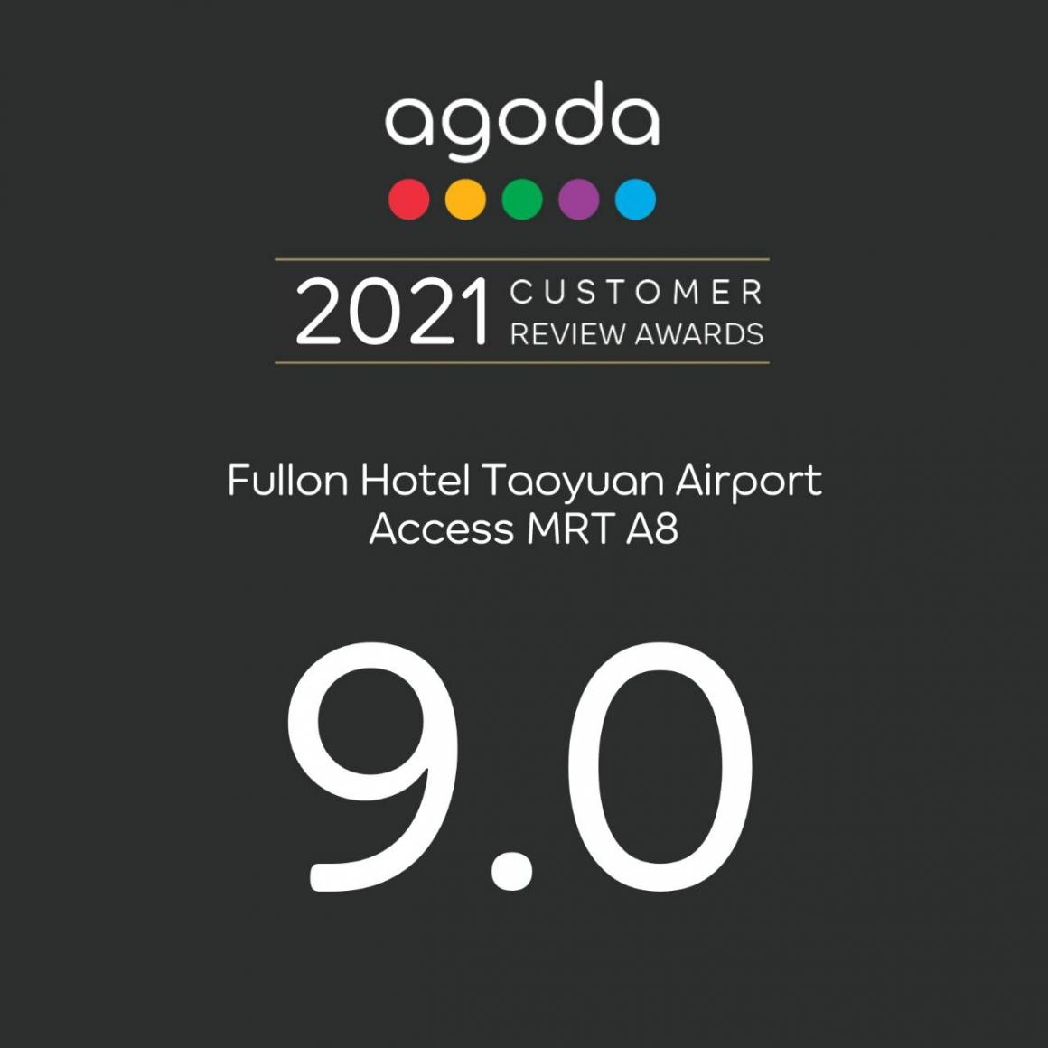 2021 Customer Review Awards 9.0-Agoda