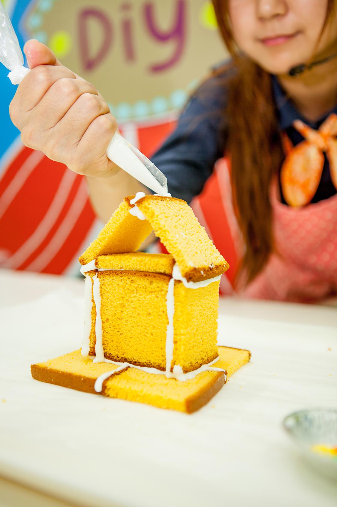 DIY長崎脆餅小屋