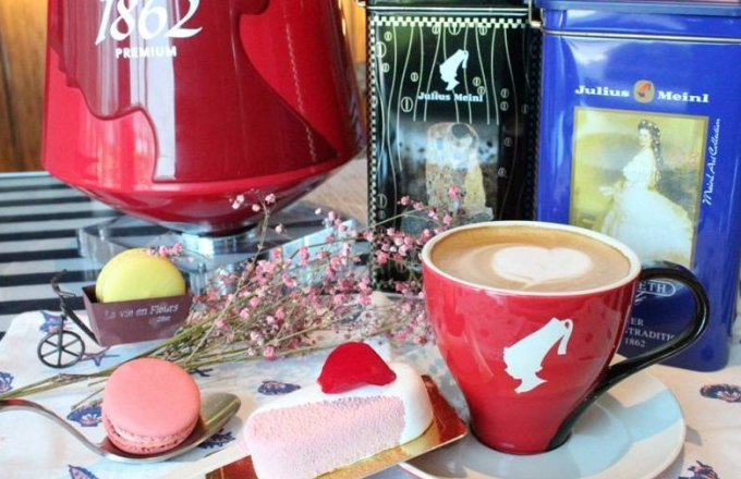 Lobby Cafe引進「奧地利第一頂極咖啡品牌的小紅帽咖啡Julius Meiml」
