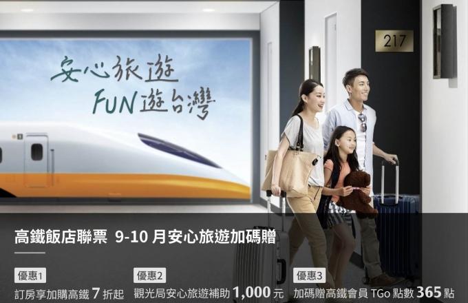 2020《福容x高鐵》9-10月安心旅遊加碼贈