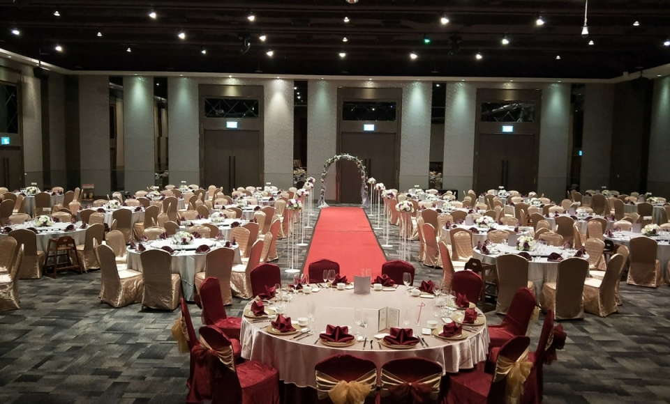 百合廳婚宴廳內照片
