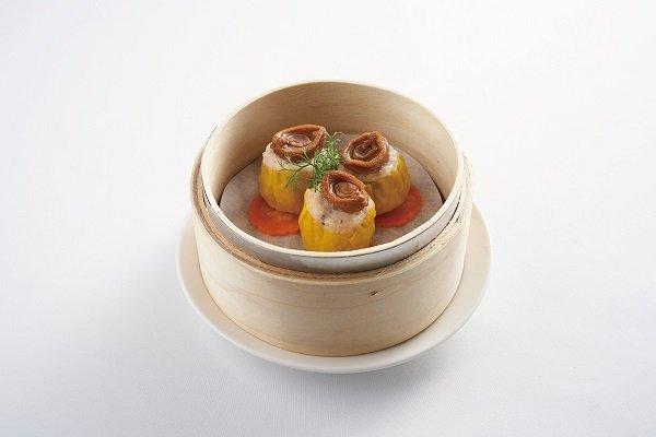 Pork Dumplings with Abalone