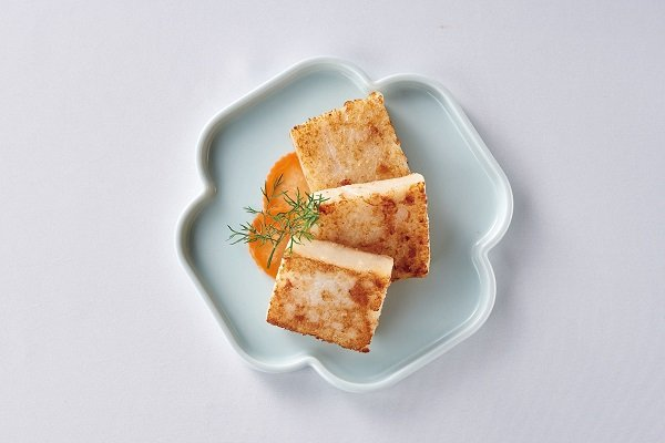 Hong Kong Style Radish Cake with Cured Meat