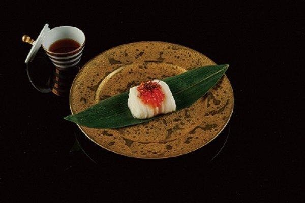 鮭魚卵山藥細麵