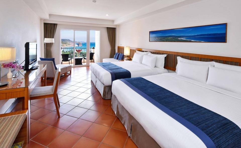 海景豪華雙床房