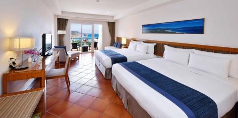 海景豪華雙床房1
